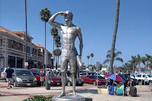 The Ben Carlson Memorial Statue, Newport Beach, United States