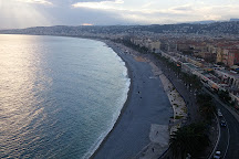 Colline du Chateau overlook, Nice, France