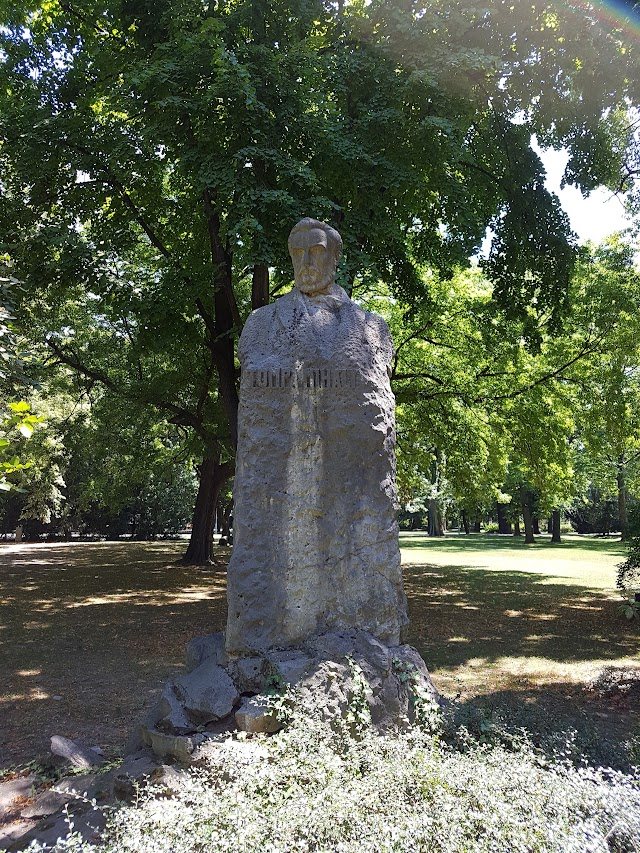 Tompa Mihály statue