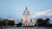 улица Тургенева, дом 63 на фото в Хабаровске: Градо-Хабаровский Собор Успения Божией Матери