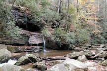 Big Bradley falls, Saluda, United States