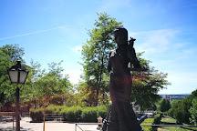 The Statue Violetera, Madrid, Spain