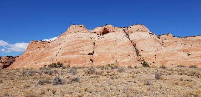 Zebra Slot Canyon Trailhead