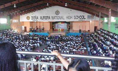 doña aurora national high school