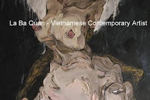 La Ba Quan - Vietnamese Painter, Hanoi, Vietnam