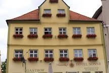 Historische Stadtmauer, Nordlingen, Germany