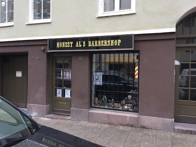 Honest al's Barbershop