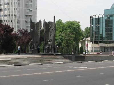 Cosmonaut monument