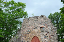 The Krimulda Castle Ruins, Sigulda, Latvia