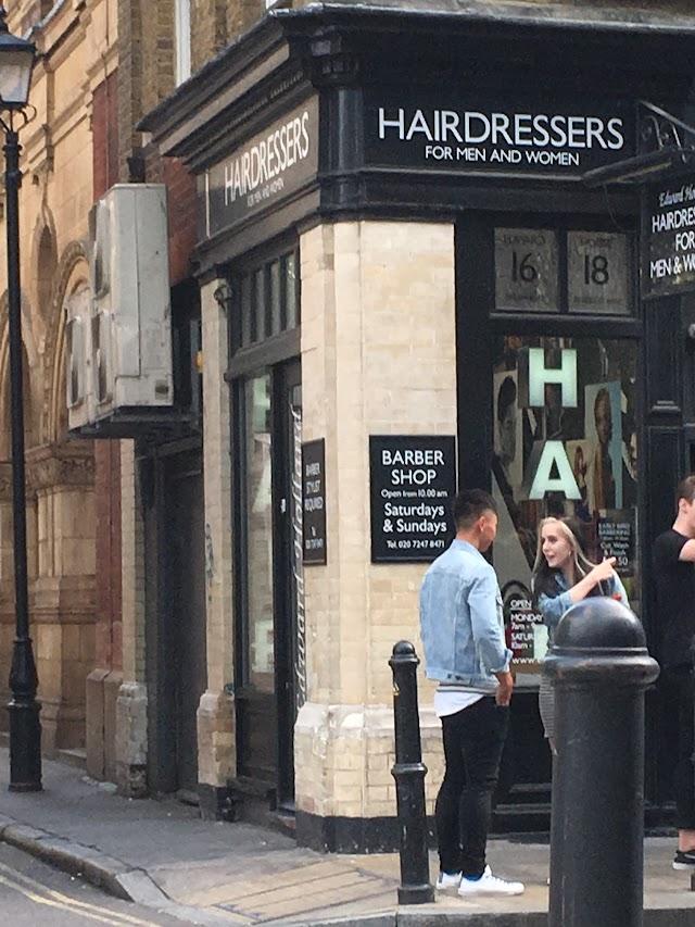Edward Holland - Barber Shop Spitalfields