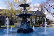 Peacock Fountain, Christchurch, New Zealand