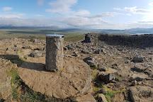 Borgarvirki, Vatnsnes, Iceland