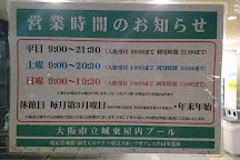 Joto Indoor Pool, Osaka, Japan
