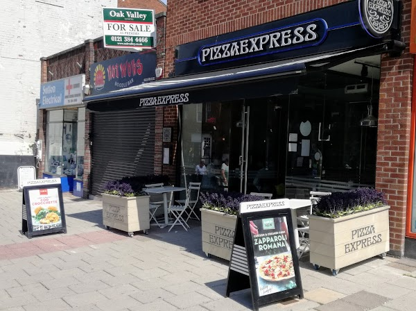Pizza Express 5 7 Birmingham Rd Sutton Coldfield B72 1qa Uk