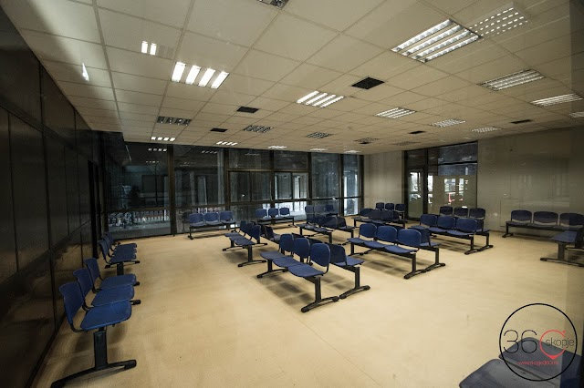 Railway Station Skopje