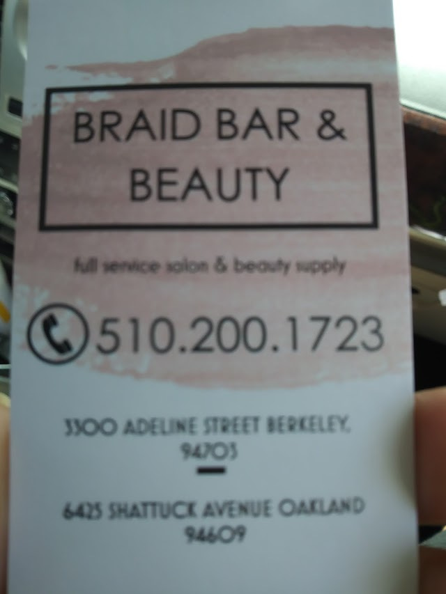 The Braid Bar