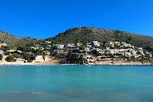 Playa del Portet, Moraira, Spain