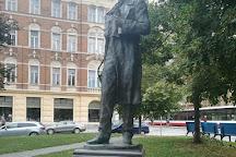 Monument to Taras Shevchenko, Prague, Czech Republic