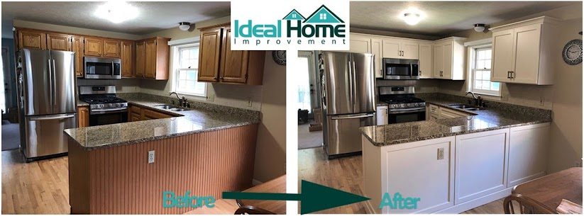 How To Refinish Kitchen Cabinets, How Can I Refinish My Kitchen Cabinets Without Stripping Them