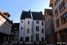 Jardin de L'hotel Juvenal des Ursins, Troyes, France