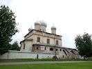 Церковь Спаса Преображения на Ильине улице, улица Красилова, дом 42 на фото Великого Новгорода