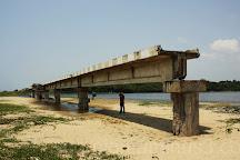 Broken Bridge, Chennai (Madras), India