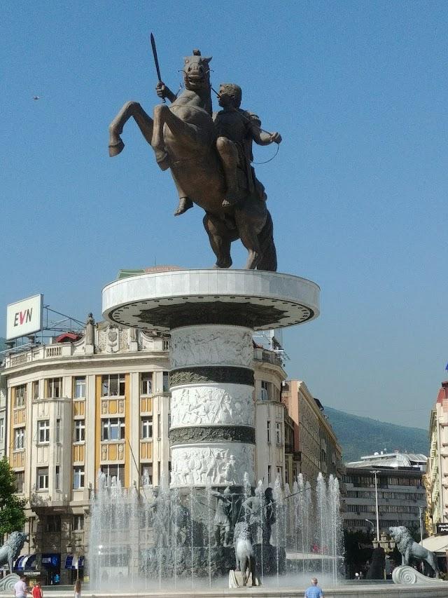 Place de Macédoine