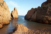 Platja mar menuda, Tossa de Mar, Spain