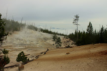 Monument Geyser Basin, Yellowstone National Park, United States