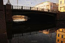 Zelyony most (Green Bridge), St. Petersburg, Russia