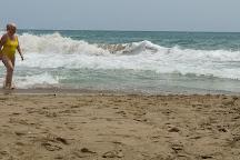 Cala del Pebret y Russo Beach, Peniscola, Spain