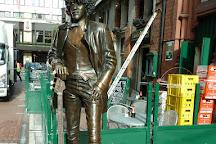 Phil Lynott Statue, Dublin, Ireland