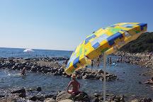 La Spiaggia del Fortullino, Castiglioncello, Italy