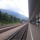 Железнодорожная станция  Landeck Zams