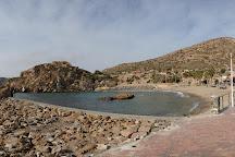 Playa La Cortina, Cartagena, Spain