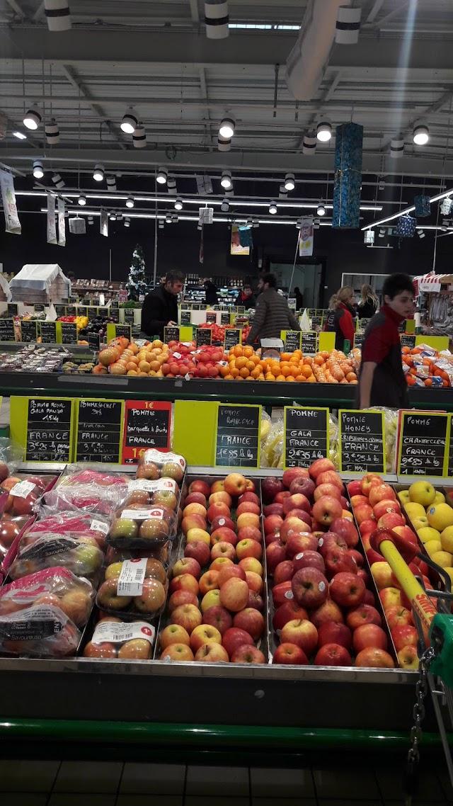Auchan Supermarché Montceaux Guereins