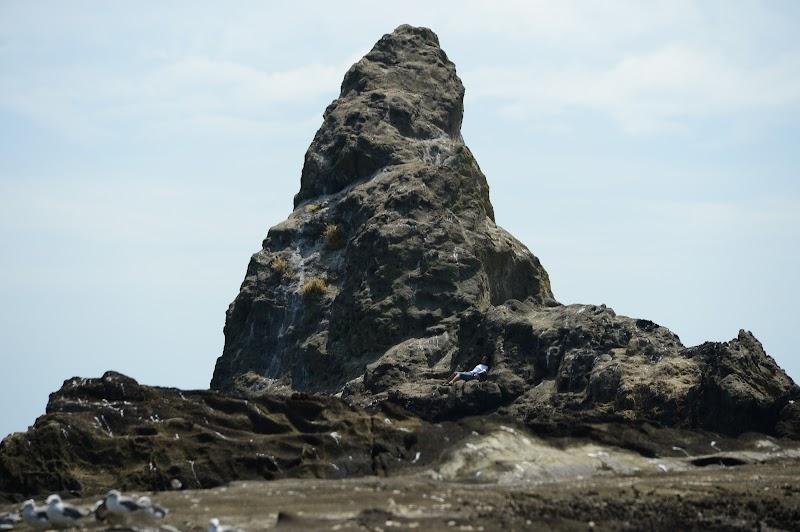 烏帽子岩(姥島)