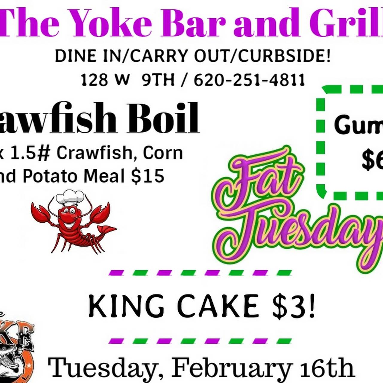 The Yoke Bar And Grill Bar And Grill Downtown Coffeyville