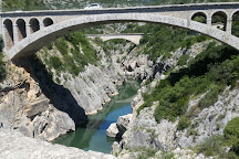 Pont du Diable, Saint-Jean-de-Fos, France