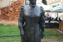 Statue of Marija Juric Zagorka, Zagreb, Croatia