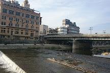 Kamogawa River, Kyoto, Japan