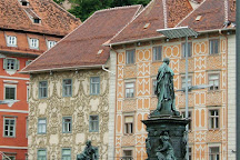 Erzherzog Johann Brunnen, Graz, Austria