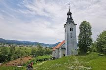 St. Ana's Church on Ledinica, Žiri, Slovenia