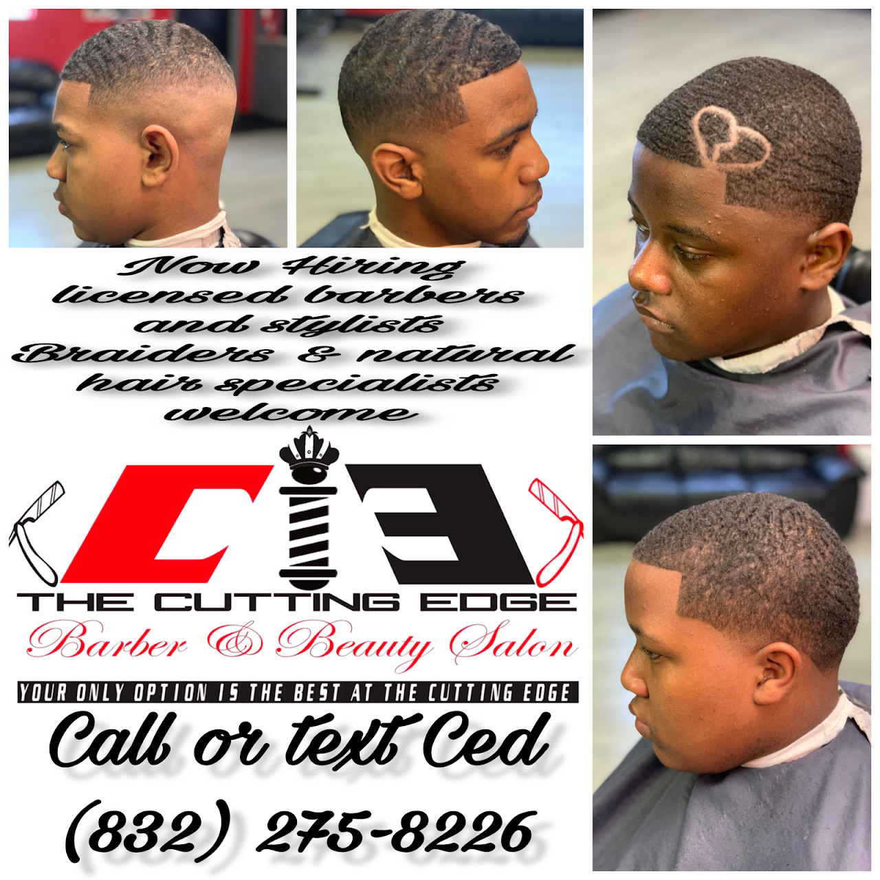 The Cutting Edge Barber and Beauty Salon - Hair Salon in Channelview
