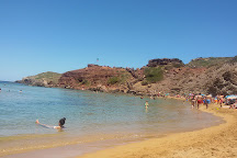 Playas de Cavelleria, Mercadal, Spain