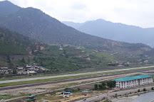Paro Airport Bird's Eye View Point, Paro, Bhutan