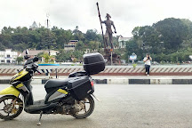 Makale Pond Roundabout, Makale, Indonesia
