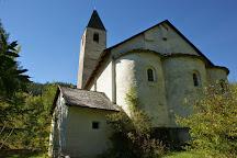 St. Peter Mistail Church (Kirche St. Peter Mistail), Alvaschein, Switzerland