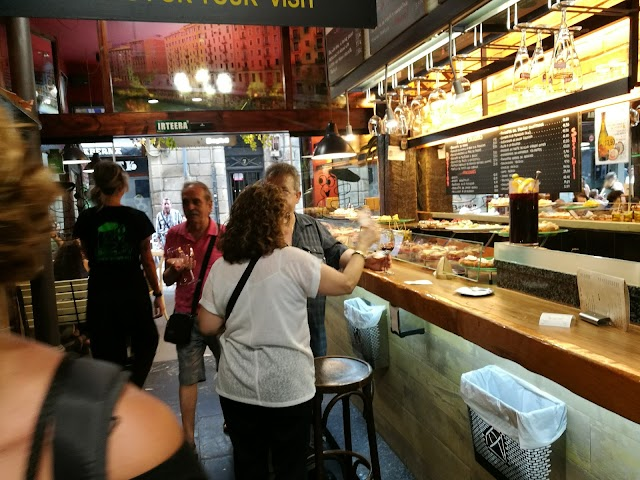 Restaurante BERTON SASIBIL Pintxos Bilbao