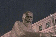 Dostoevsky Monument, St. Petersburg, Russia